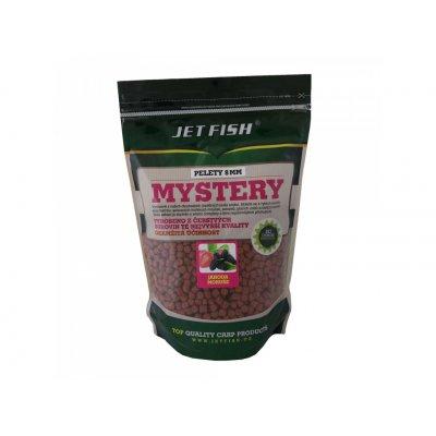 1kg pelety Mystery : JAHODA/MORUŠE