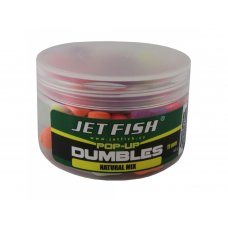 Fluoro pop-up dumbles 11mm : natural mix