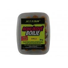 Rohlíkové boilie 30g : Chilli