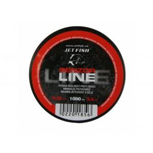 1000m Senzor line : 0,25