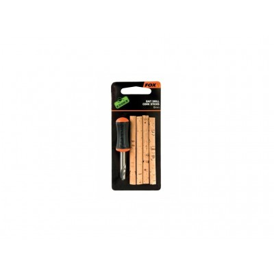 Fox Edges Nut Drill Cork sticks + 4ks korek 6mm