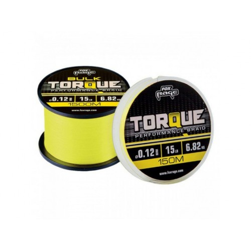 FOX Rage - Šňůra Torque Braid 150m 0,14mm 18lb
