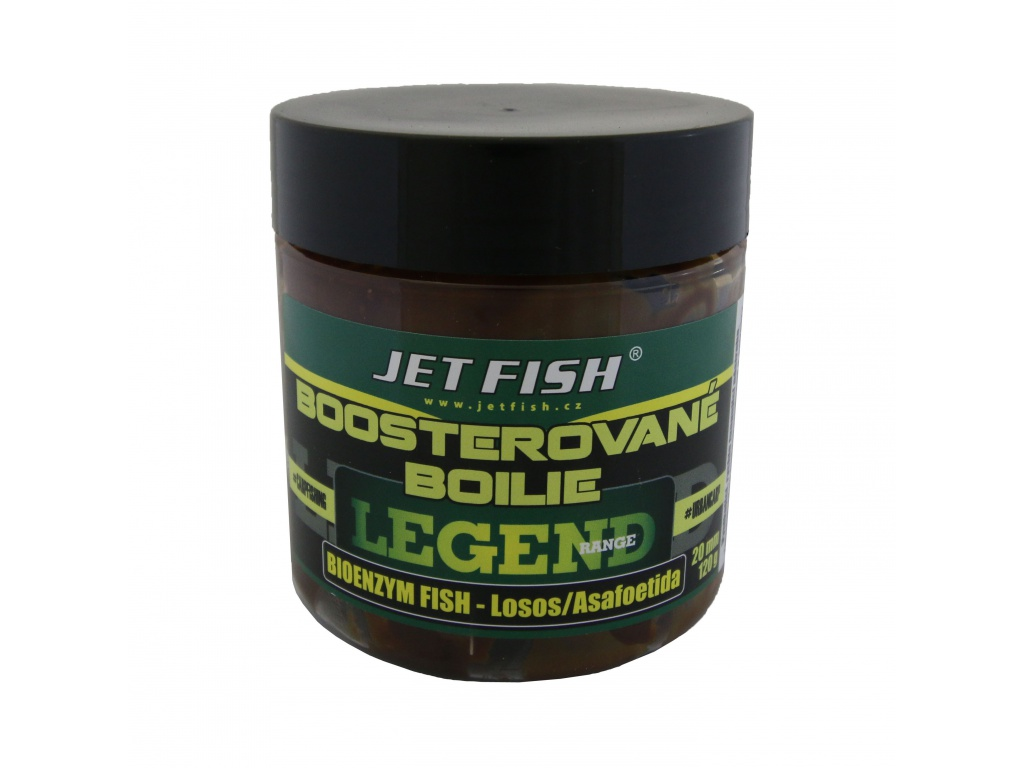 Legend Range - Boosterované boilie 250ml - 20mm  : BIOENZYM FISH_LOSOS