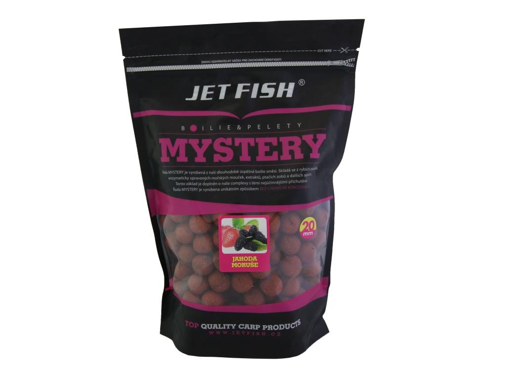 Boilie JetFish Mystery 1kg 20mm Jahoda/Moruše
