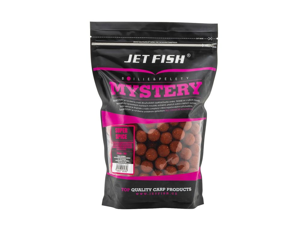 Boilie JetFish Mystery 1kg 20mm Super Spice