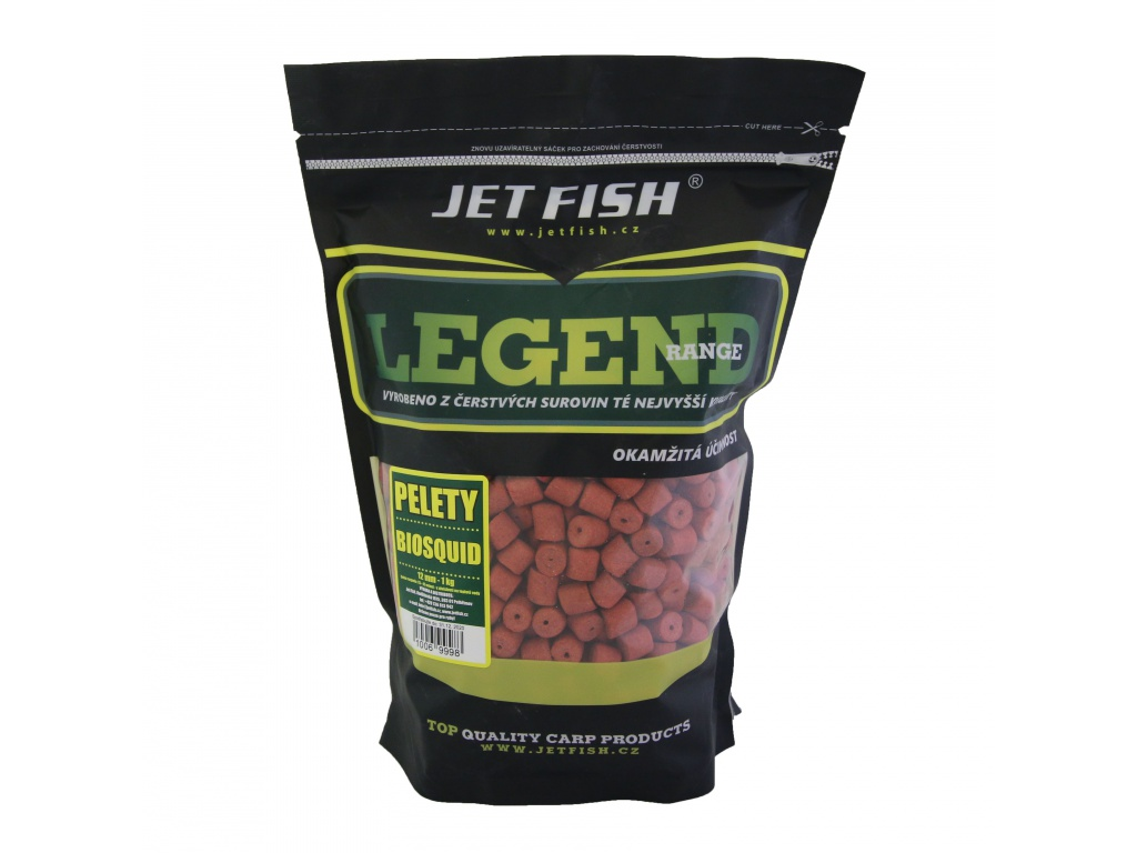 Legend Range - Pelety 1kg - 12mm : BIOSQUID