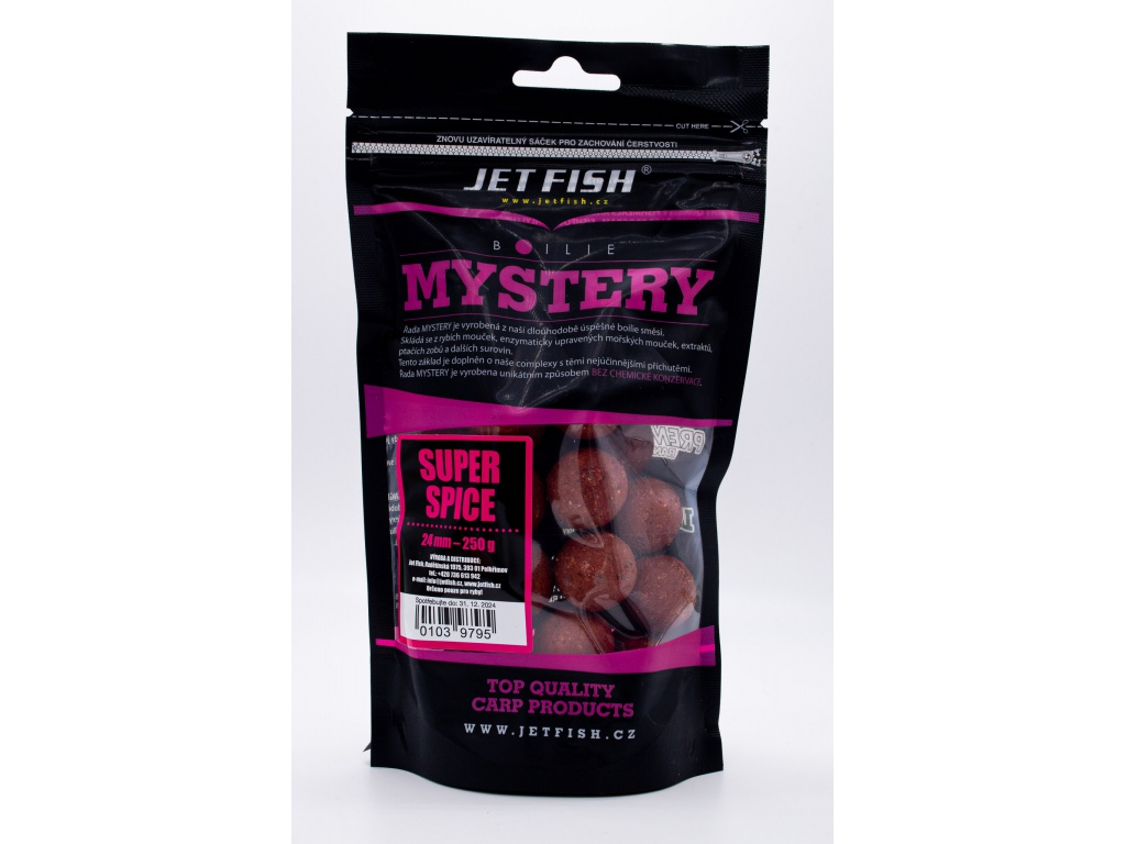 Mystery boilie 250g - 24mm : SUPER SPICE