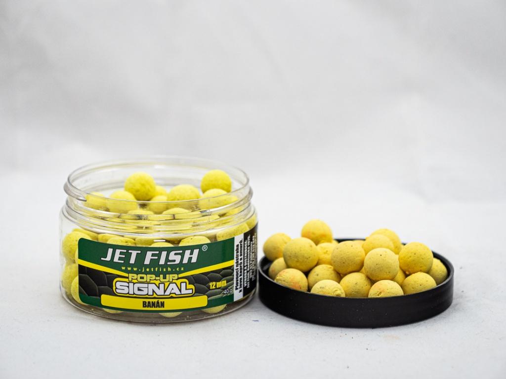 Pop Up JetFish Signal 12mm Banán