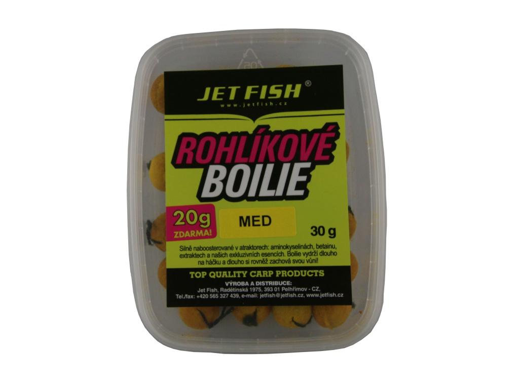 Rohlíkové boilie 40g : Med