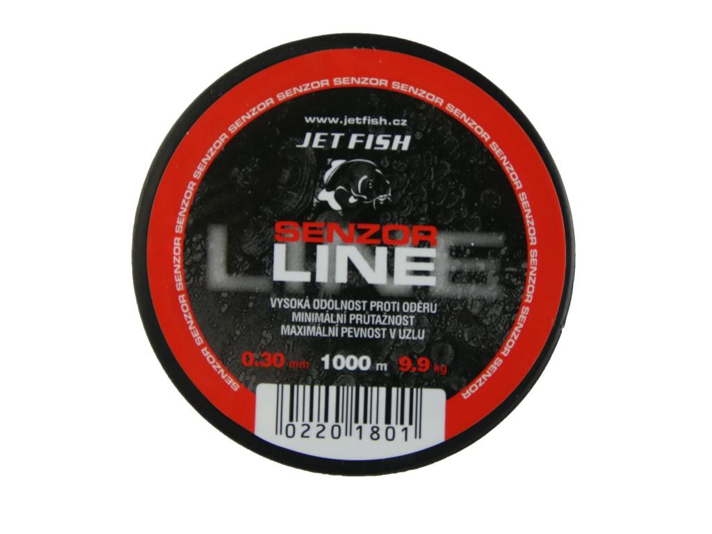 Vlasec JetFish Senzor line 1000m 0,30mm