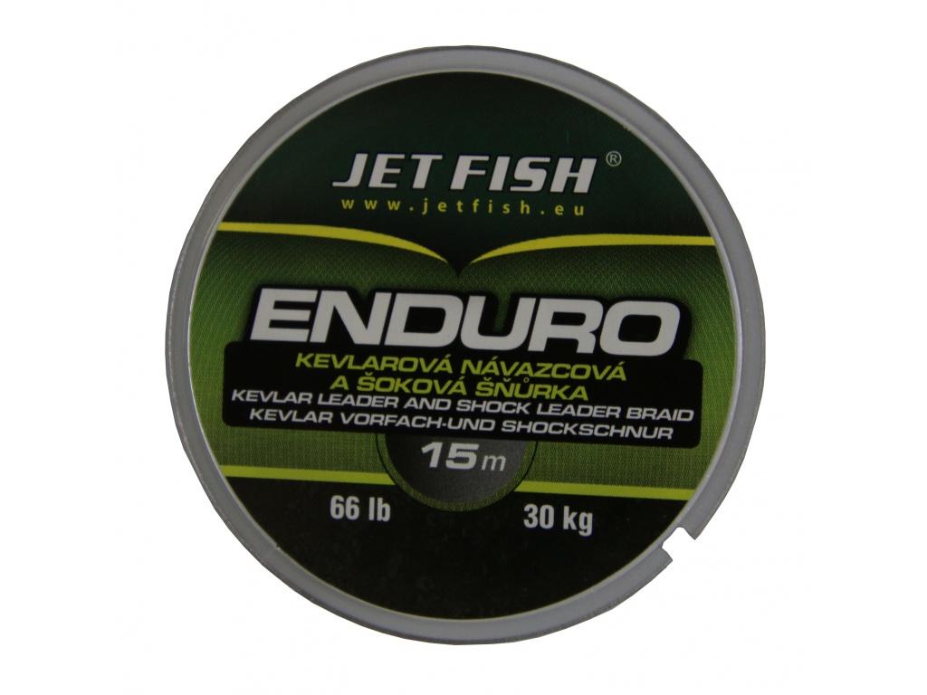 Návazcová šňůrka JetFish Enduro 66lb 50m